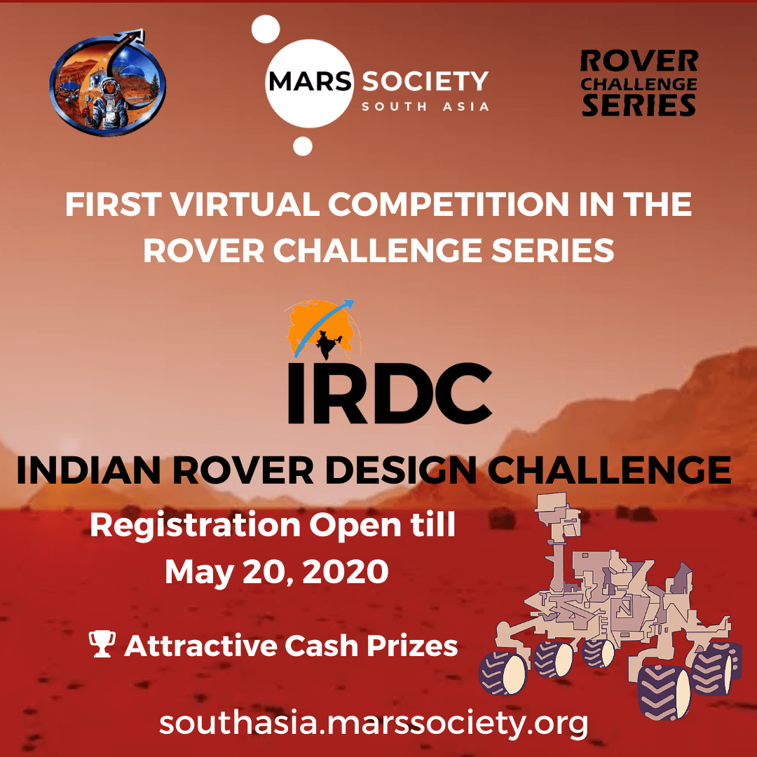 MSSA Announces Indian Rover Design Challenge 2020